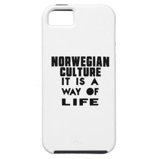 NORWEGIAN CULTURE IT IS A WAY OF LIFE iPhone 5 CASE