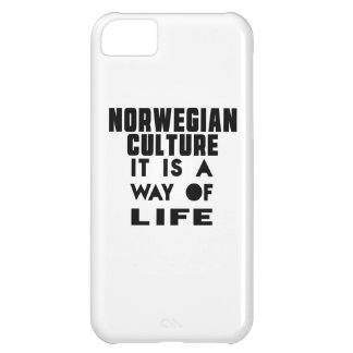 NORWEGIAN CULTURE IT IS A WAY OF LIFE iPhone 5C CASES
