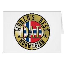 Norwegian Dad Card