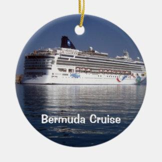 Norwegian Dawn, Bermuda Cruise Ceramic Ornament