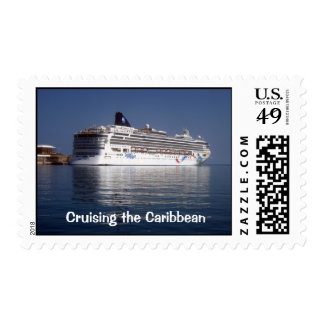 Norwegian Dawn, Cruising the Caribbean Postage Stamp