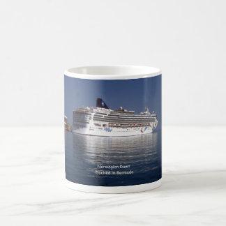 Norwegian Dawn in Bermuda Coffee Mug