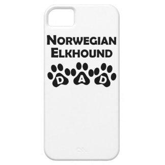 Norwegian Elkhound Dad iPhone 5 Case