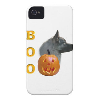 Norwegian Elkhound Halloween Boo iPhone 4 Case-Mate Case