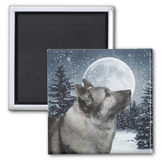 Norwegian Elkhound Magnet