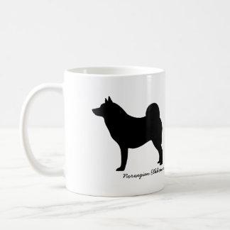 Norwegian Elkhound Classic White Coffee Mug