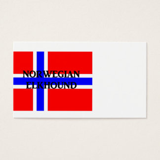 norwegian elkhound name norway-flag.png business card