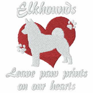 Norwegian Elkhounds Leave Paw Prints