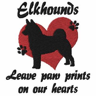 Norwegian Elkhounds Leave Paw Prints