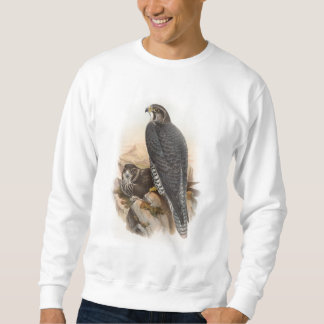 Norwegian Falcon John Gould Birds of Great Britain Sweatshirt