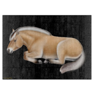Norwegian Fjord Horse at Rest Cutting Board