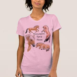 Norwegian Fjord Horse Customizable T-Shirt