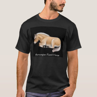Norwegian Fjord Horse Dark T-Shirt