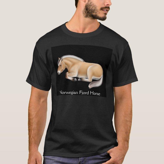 Norwegian Fjord Horse Dark T-Shirt