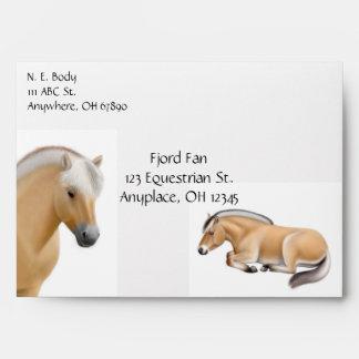 Norwegian Fjord Horse Envelope