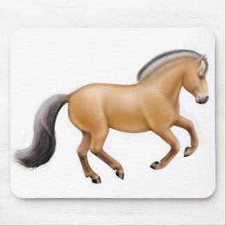 Norwegian Fjord Horse Mousepad