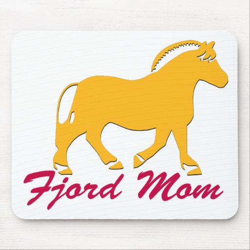 Norwegian Fjord Mom Mouse Pad