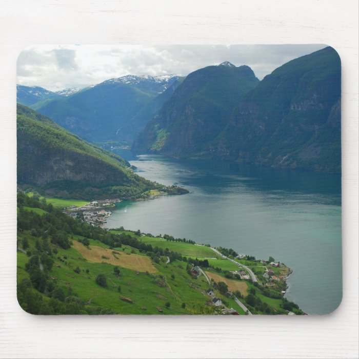 Norwegian Fjord Mousepad