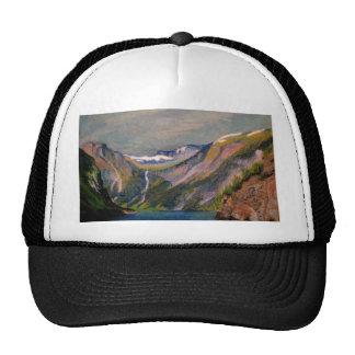 Norwegian fjord oil pastel mesh hats