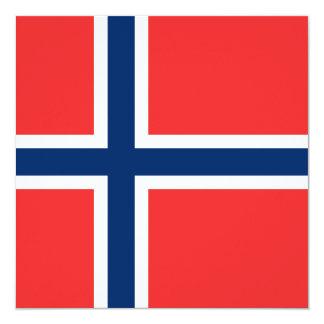 Norwegian Flag Card