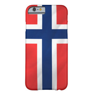 Norwegian Flag Barely There iPhone 6 Case