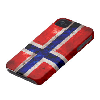 Norwegian Flag iPhone 4 Case-Mate Cases