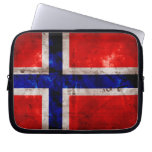 Norwegian Flag Computer Sleeve