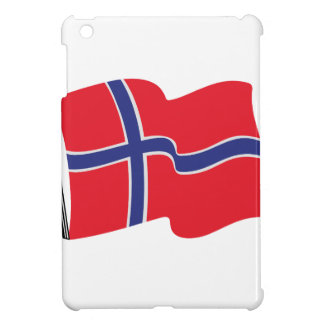 Norwegian Flag Cover For The iPad Mini