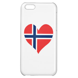 Norwegian Flag Heart iPhone 5C Covers