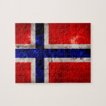 Norwegian Flag Jigsaw Puzzles