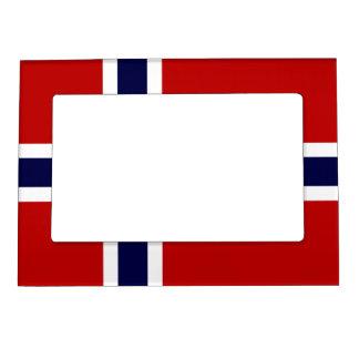 Norwegian Flag - Kongeriket Norge - Norsk Flagg Magnetic Frame