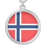 Norwegian Flag Pendant