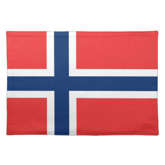 Norwegian flag placemat | Norway colors
