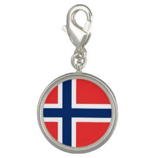 Norwegian flag bracelets