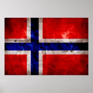 Norwegian Flag Print