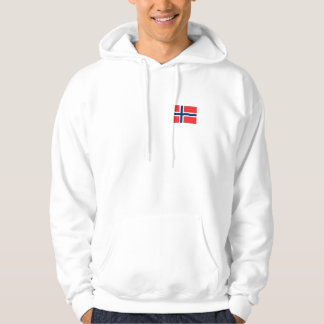 Norwegian Flag Scandinavian Hoodie