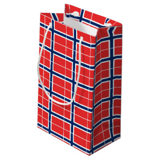 Norwegian Flag Symbols Small Gift Bag