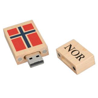 Norwegian flag USB pendrive flash drive | Norway