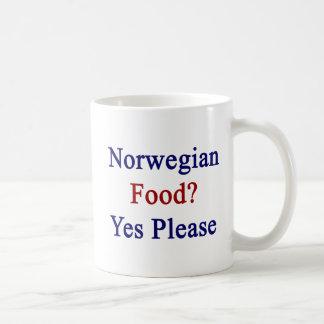 Norwegian Food Yes Please Coffee Mug