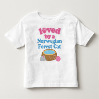 Norwegian Forest Cat Breed Loved By A Gift Toddler T-shirt