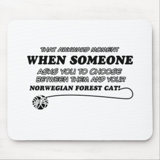 Norwegian Forest Cat designs Mouse Pad