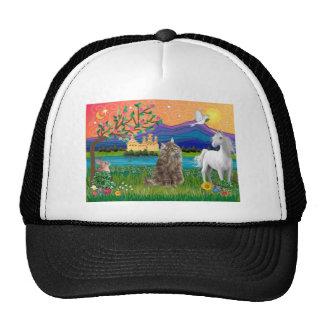 Norwegian Forest Cat - Fantasy Land Trucker Hat