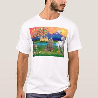 Norwegian Forest Cat - Fantasy Land T-Shirt