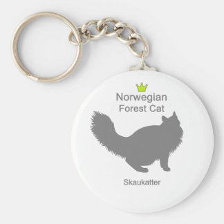 Norwegian Forest Cat g5 Key Chains