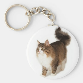 Norwegian Forest Cat Key Chains