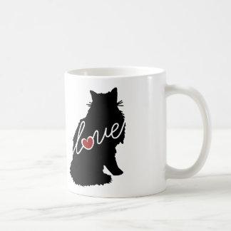 Norwegian Forest Cat Love Coffee Mug