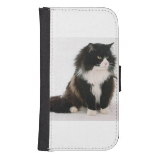 Norwegian_Forest_Cat sitting.png Wallet Phone Case For Samsung Galaxy S4