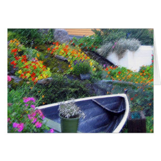 """Norwegian Garden"" Card"