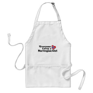 Norwegian Girl Adult Apron