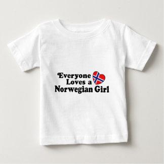 Norwegian Girl Baby T-Shirt